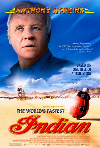 The World's Fastest Indian 27x40 Movie Poster (2005)