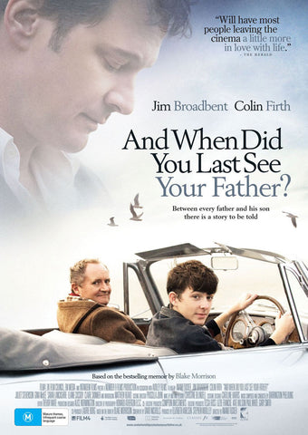 When Did You Last See Your Father? (UK) 11x17 Movie Poster (2007)