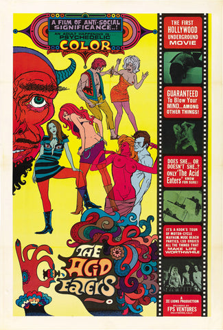 The Acid Eaters 27x40 Movie Poster (1968)