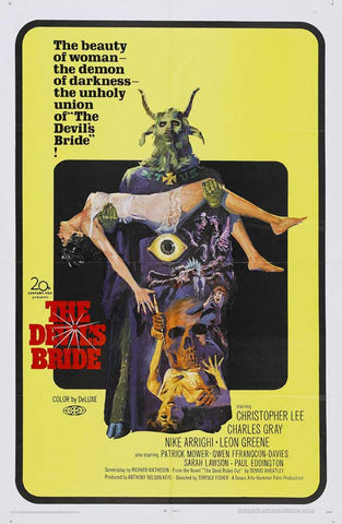 The Devil Rides Out 11x17 Movie Poster (1968)