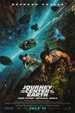 Journey to the Center of the Earth 27x40 Movie Poster (2008)