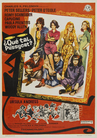 What's New Pussycat (Spanish) 11x17 Movie Poster (1965)