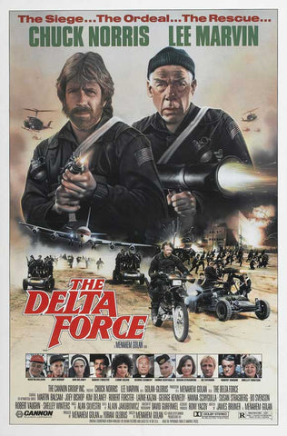 Delta Force 27x40 Movie Poster (1986)