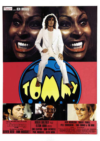 Tommy (Italian) 27x40 Movie Poster (1975)