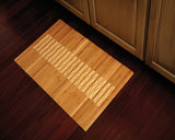 Bamboo Kitchen & Bath Mat 24