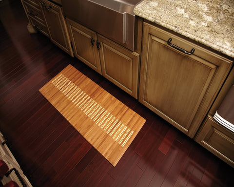 "Bamboo Kitchen & Bath Mat 20"" x 48"""