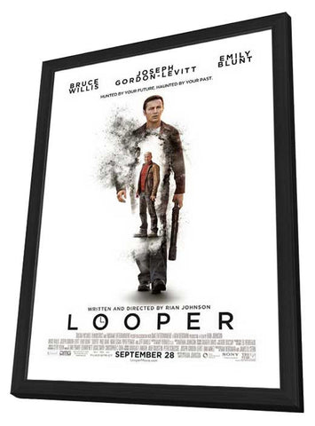 Looper 27x40 Framed Movie Poster (2012)