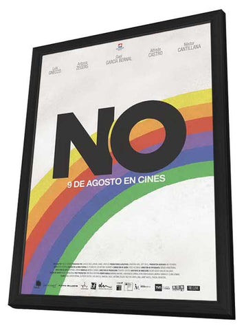 No (Chilean) 11x17 Framed Movie Poster (2013)