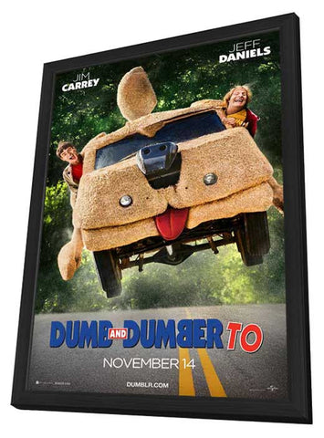 Dumb and Dumber To 27x40 Framed Movie Poster (2014)