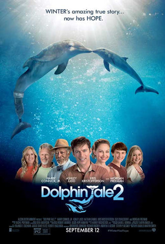 Dolphin Tale 2 11x17 Movie Poster (2014)