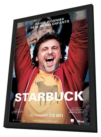 Starbuck (Canadian) 27x40 Framed Movie Poster (2010)