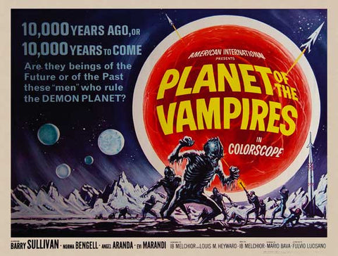 Planet of the Vampires 11x17 Movie Poster (1965)
