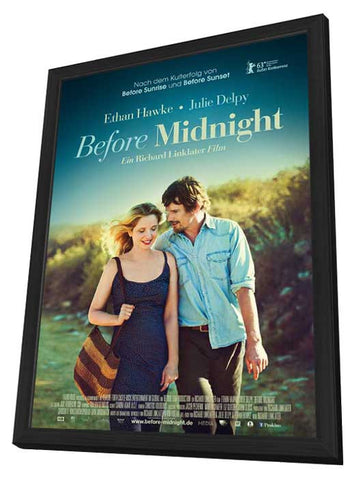 Before Midnight (German) 11x17 Framed Movie Poster (2013)