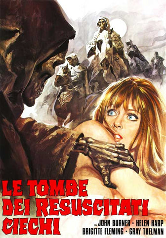 Tombs of the Blind Dead (Italian) 27x40 Movie Poster (1972)