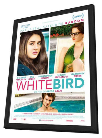 White Bird in a Blizzard (French) 11x17 Framed Movie Poster (2014)