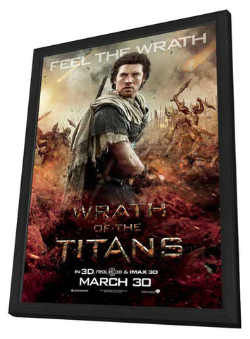 Wrath of the Titans 11x17 Framed Movie Poster (2012)