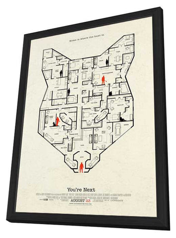 You're Next 27x40 Framed Movie Poster (2013)