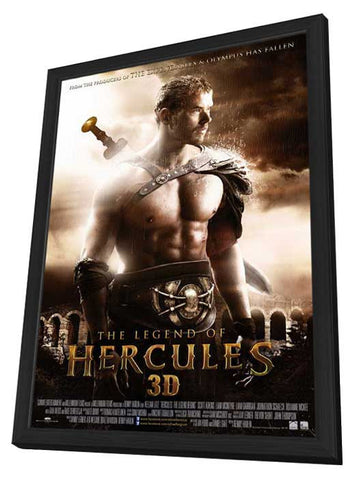 The Legend of Hercules (Dutch) 11x17 Framed Movie Poster (2014)