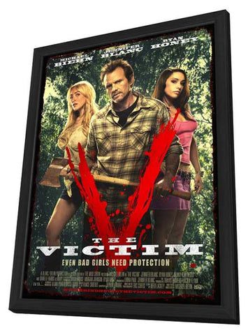Bad Ass 11x17 Framed Movie Poster (2012)