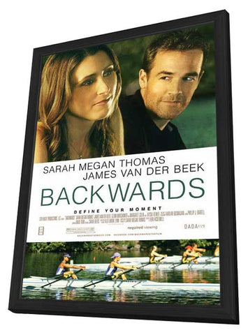 Backwards 27x40 Framed Movie Poster (2012)