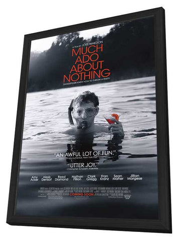 Much Ado About Nothing 11x17 Framed Movie Poster (2013)