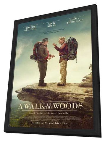 A Walk in the Woods 27x40 Framed Movie Poster (2015)