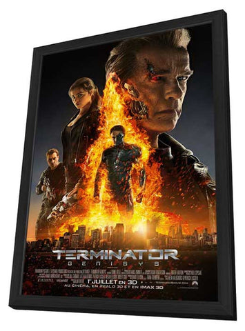 Terminator Genisys (Canadian) 27x40 Framed Movie Poster (2015)
