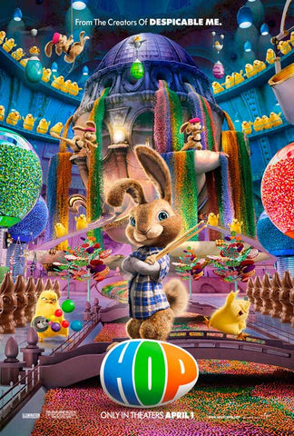 Hop 11x17 Movie Poster (2011)