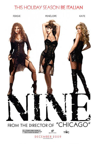 Nine 11x17 Movie Poster (2009)