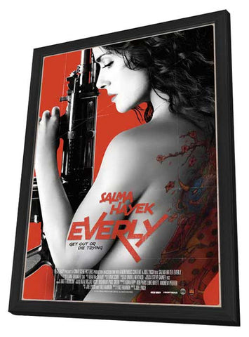 Everly 11x17 Framed Movie Poster (2015)