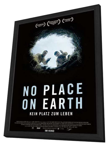 No Place on Earth (German) 27x40 Framed Movie Poster (2013)