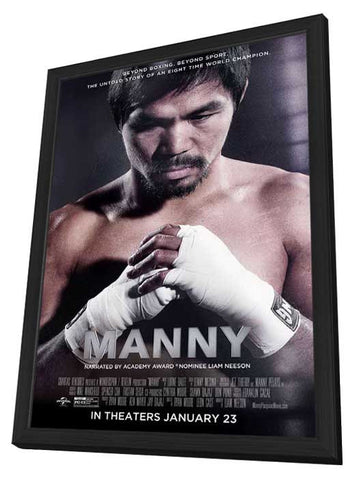 Manny 11x17 Framed Movie Poster (2015)