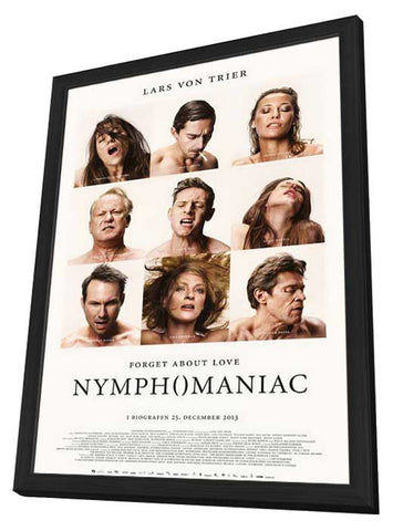 Nymphomaniac Part One (Danish) 11x17 Framed Movie Poster (2014)