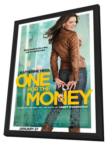 One for the Money 11x17 Framed Movie Poster (2011)