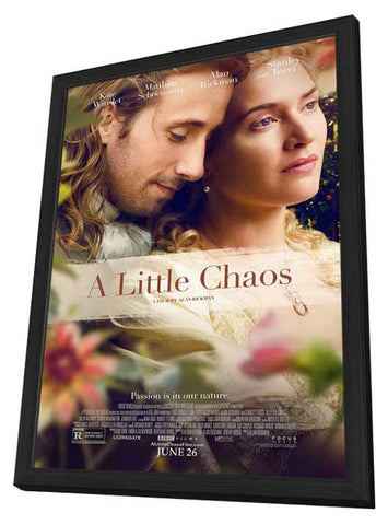 A Little Chaos 11x17 Framed Movie Poster (2014)