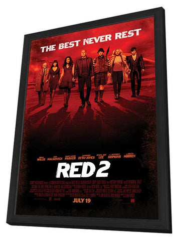 RED 2 27x40 Framed Movie Poster (2013)