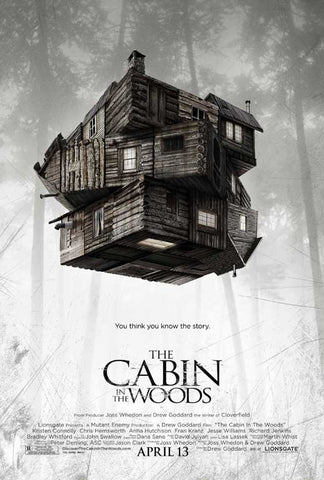 The Cabin in the Woods 11x17 Movie Poster (2012)