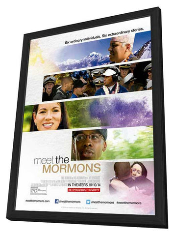 Meet the Mormons 11x17 Framed Movie Poster (2014)