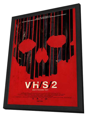 V/H/S 2 11x17 Framed Movie Poster (2013)