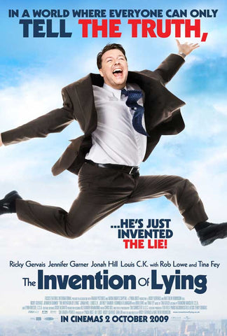 The Invention of Lying (UK) 27x40 Movie Poster (2009)