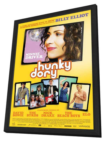 Hunky Dory 11x17 Framed Movie Poster (2013)