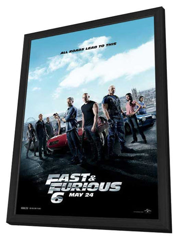 Here Comes the Boom 11x17 Framed Movie Poster (2012)