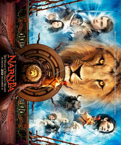 The Chronicles of Narnia: The Voyage of the Dawn Treader 11x14 Movie Poster (2010)