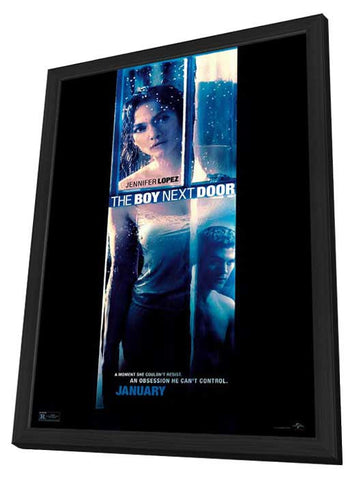 The Boy Next Door 27x40 Framed Movie Poster (2015)