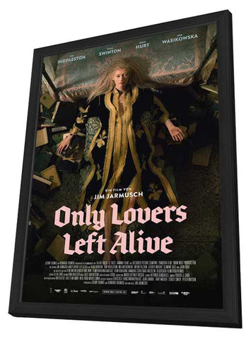 Only Lovers Left Alive (German) 11x17 Framed Movie Poster (2014)