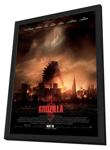 Godzilla 11x17 Framed Movie Poster (2014)
