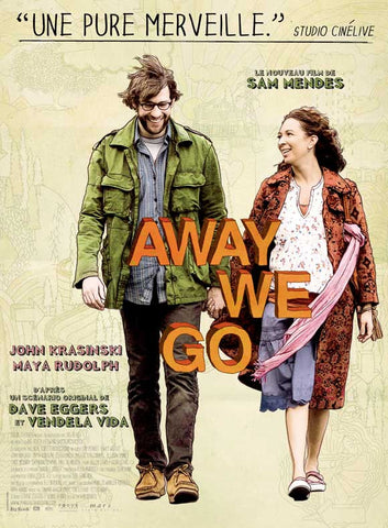 Away We Go (French) 27x40 Movie Poster (2009)
