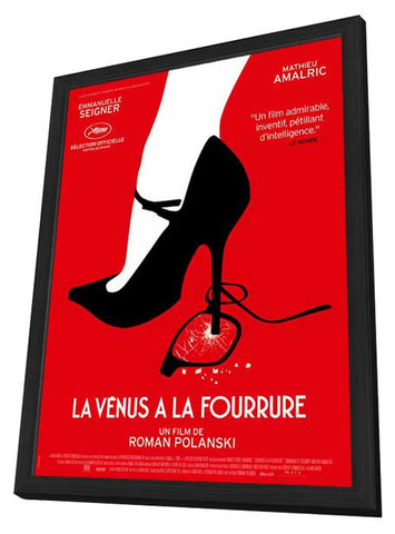 Venus in Fur (French) 27x40 Framed Movie Poster (2014)