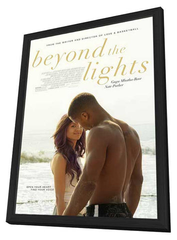 Beyond the Lights 11x17 Framed Movie Poster (2014)