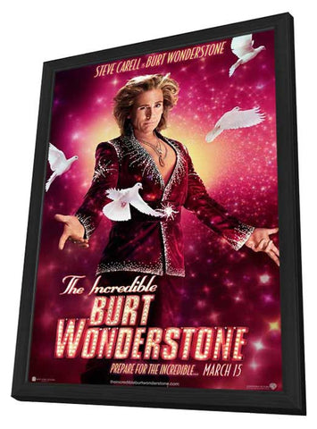 The Incredible Burt Wonderstone 11x17 Framed Movie Poster (2013)